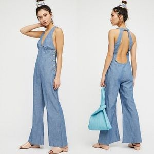 Free People Dance All Night One-Piece Jumpsuit
